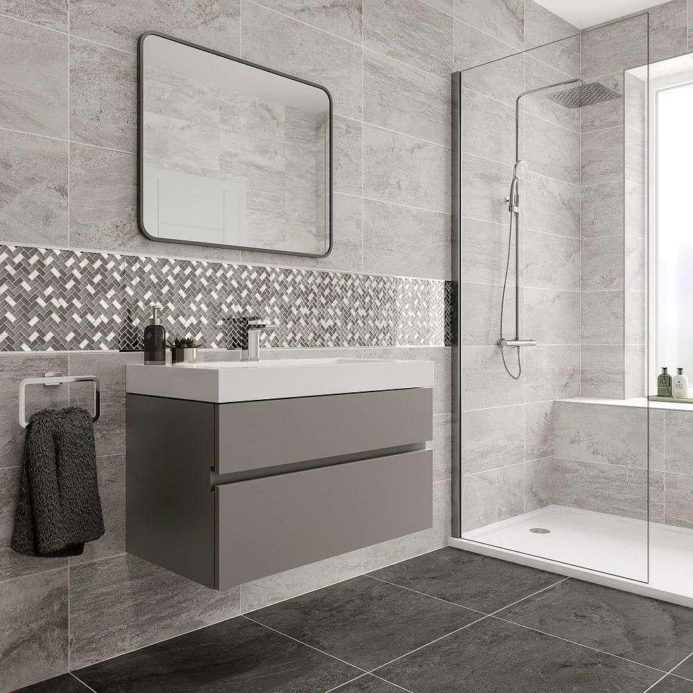 Top Stone White 308x615 Tiles Tile, White Stone Tile Bathroom
