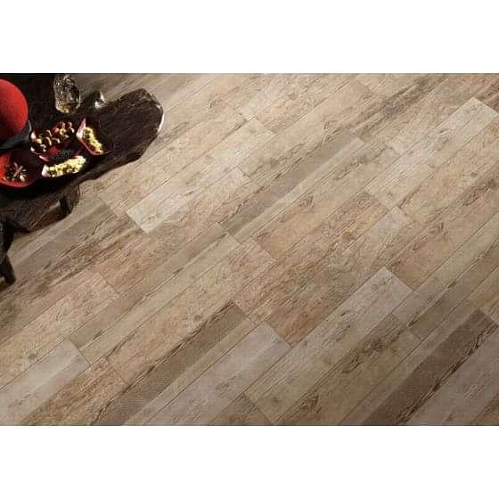 Sequoia Grip Light Oak Wood Effect Tile