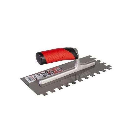 Rubi Square Notched Steel Trowel 10mm