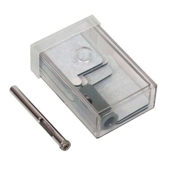 Vitrex Diamond Drill Bit 6mm Self Adhesive Kit System
