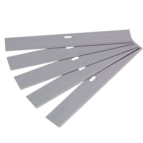 Vitrex Replacement Scraper Blades 100mm (5 Pack)
