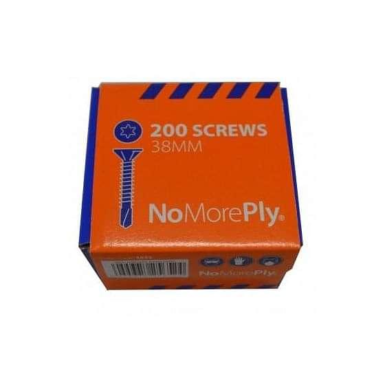 38mm Torx Screws Pack of 200