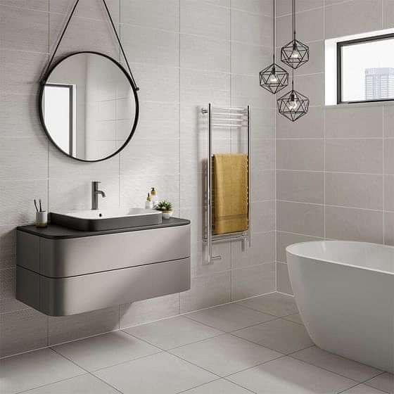 Seed White Floor Porcelain Floor Tile 500x500