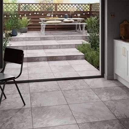 Axis Grey 20mm Rectified 600x600