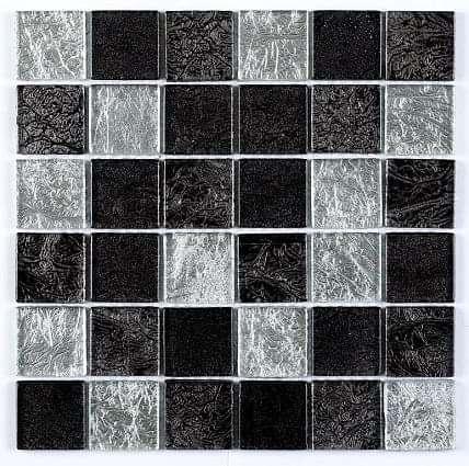 Black Silver Leaf Mix