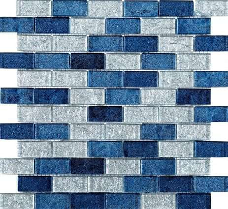 Metalikos Blue Foil Mosaic