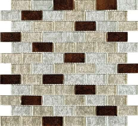 Metalikos Brown Foil Mosaic