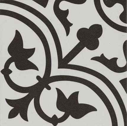 Pamplona Black on White Pattern 200x200