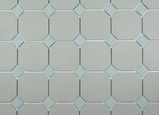 Dawn Grey Octagon with Eau de Nil Dot 296x296 Mosaic