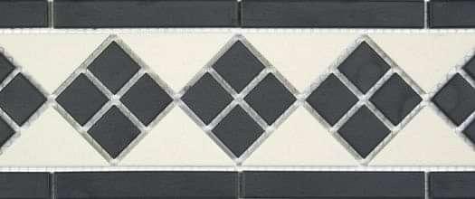 Clifton Border Black and White 281x151