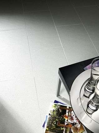 Mirror White Quartz Tile 600x600