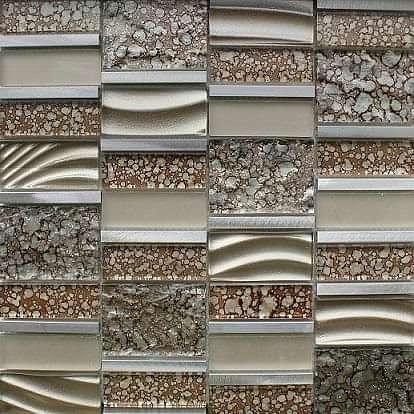 Harmony Brown Mosaic 298x300