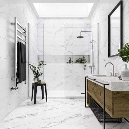 Mont Blanc Marble Effect 600 x 600
