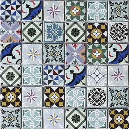 Geo Moroccan Bright Mosaic
