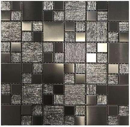 Gunmetal Luxe Mosaic