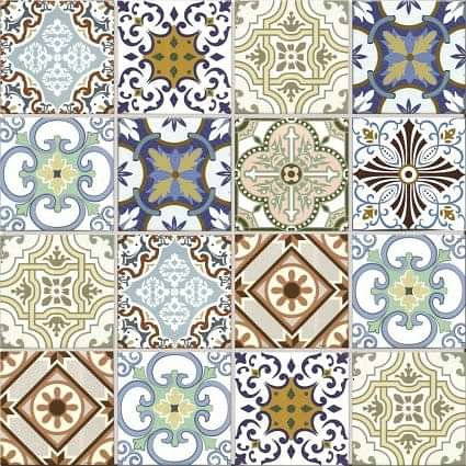 Geo Morroccan Large Mosaic