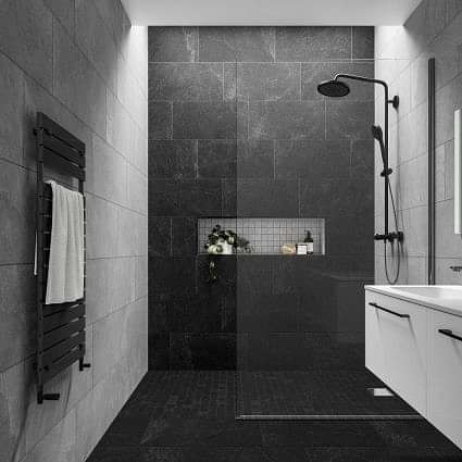 Slate Rock Grey 300x600