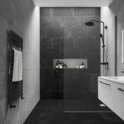 Slate Rock Grey Mosaic (50x50)
