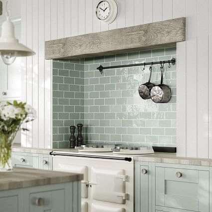 Somerset Green Gloss 75x150