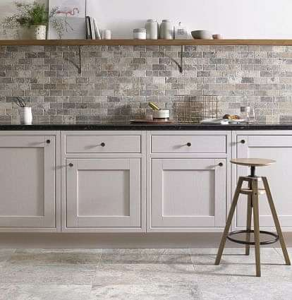Italiana Grey Brick Mosaic 48x98mm