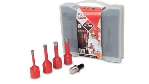 Rubi Mini Drygres Drill Bit Kit