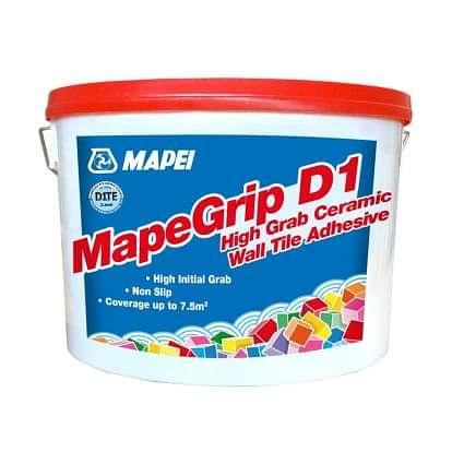 Mapei Mapegrip D1 Wall Tile Adhesive 15kg