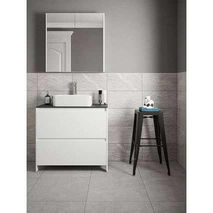 Acton Light Grey Decor 250x500