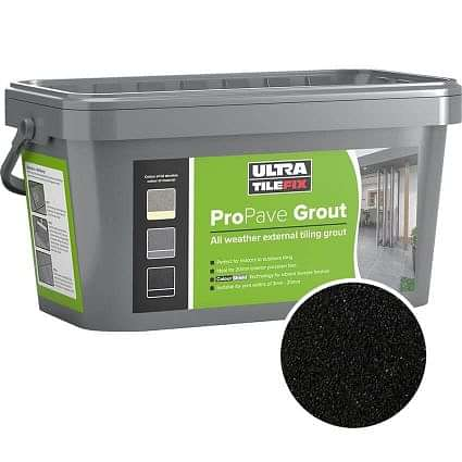 Pro Pave Brush in Grout Black 15kg