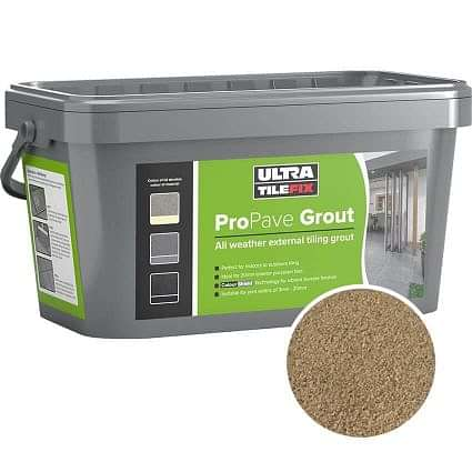 Pro Pave Brush in Grout Buff 15kg