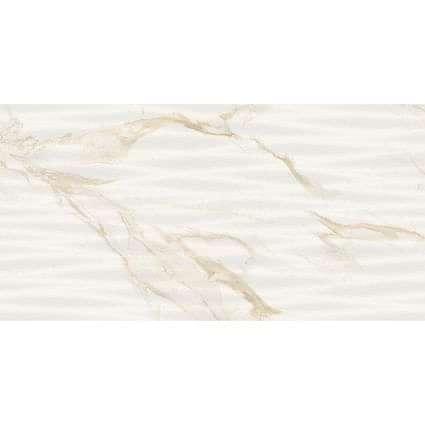 Amalfi Gold Wave Decor 300x600