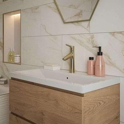 Amalfi Gold Polished Wall 300x600