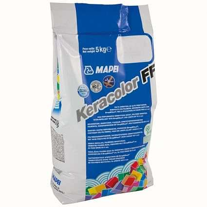 Keracolour FF White (100) Wall & Floor Grout 5kg