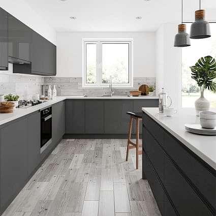 Rowan Wood Effect Grey 150 x 600