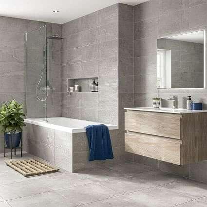 Seed Grey Decor Ceramic Wall Tile 250x500