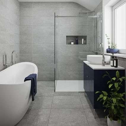 Wilmslow Grey Decor 333x900