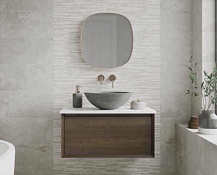Hamilton Beige Stone Effect Porcelain Tile