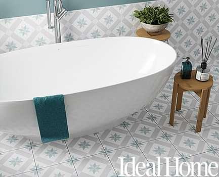 Ideal Home Patterned Floor Tile