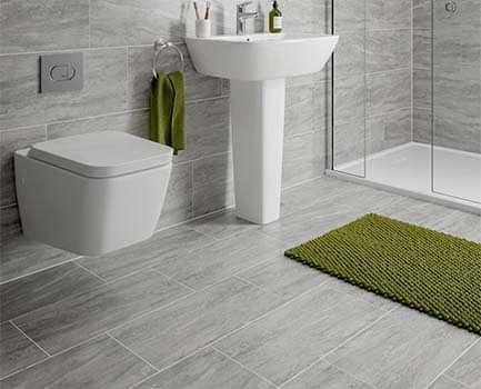 Alaska Bathroom Floor Tile