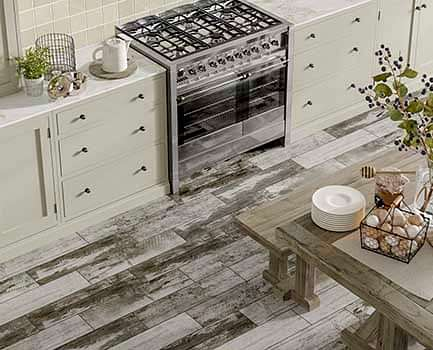 Puzzlewood Wood Effect Kitchen Tiles