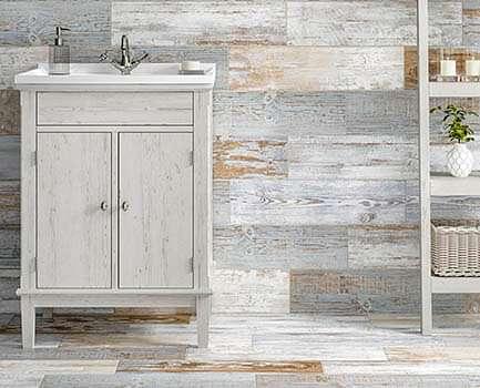 Puzzlewood Bathroom Floor Tile