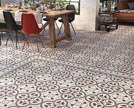 Pamplona Patterned Floor Tile