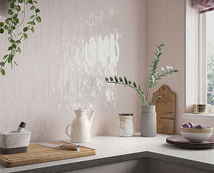 Picket Kitchen Wall Tile
