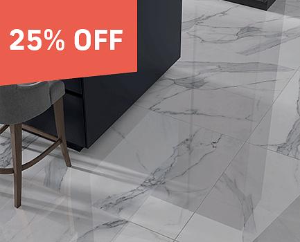 Sofia Marble Effect Floor Tile