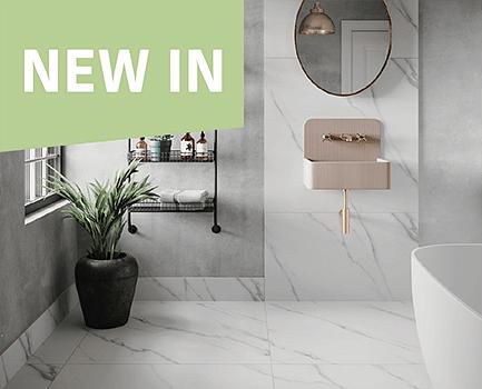 Alba Carrara Bathroom Tile