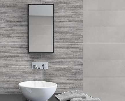 Avon White Bathroom Wall Tile