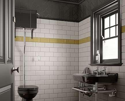 Deep metro Bathroom Wall Tile