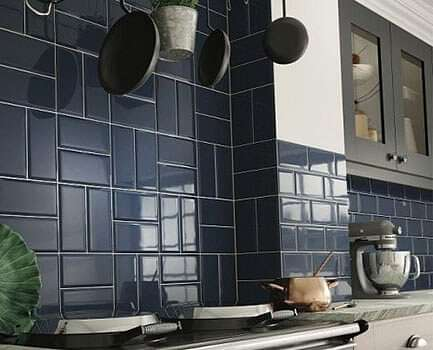 Deep Metro Kitchen Wall Tiles