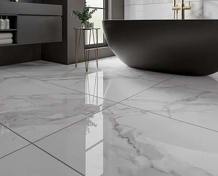 Large Marble Effect Tiles
