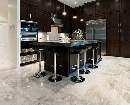 Vanilla Cream Kitchen Wall Tile